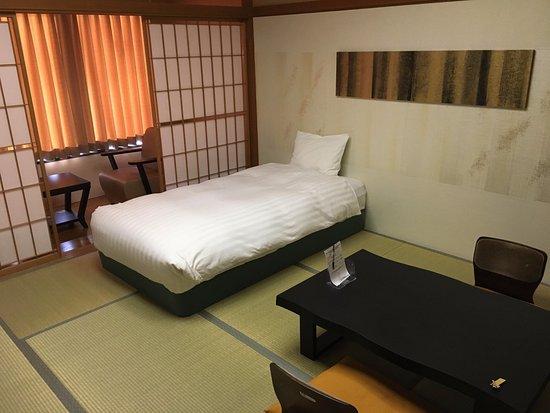 Centurion Hotel Resort & Spa Technoport Fukui : 和室ベッドシングル