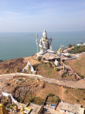 Murdeshwar, الهند: статуя Шивы