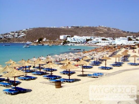 Platis Gialos Beach Photo