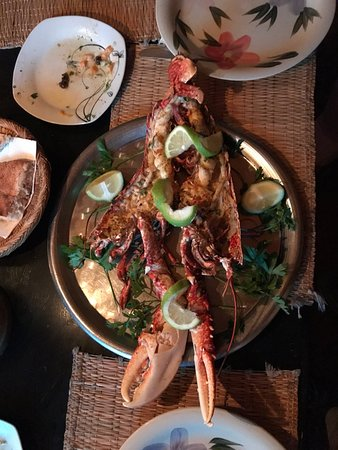 Chez Kherfa: grilled lobster