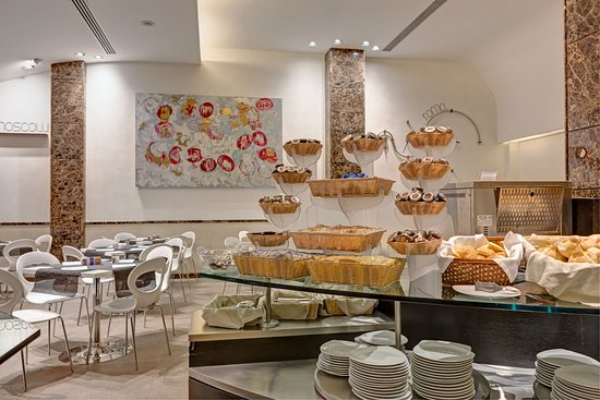 Best Western Premier Hotel Royal Santina : Breakfast area