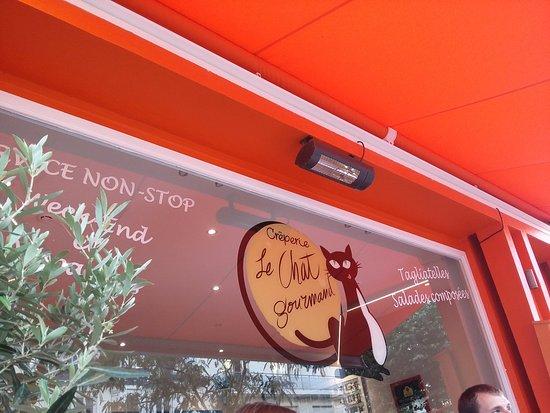 Le Chat Gourmand : façade