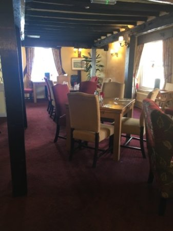 Clare, UK: Dining area