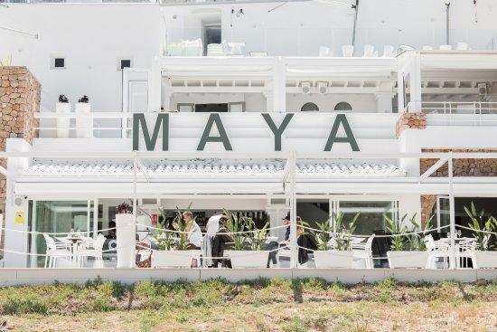 Cala Vadella, España: Maya beach Club Ibiza
