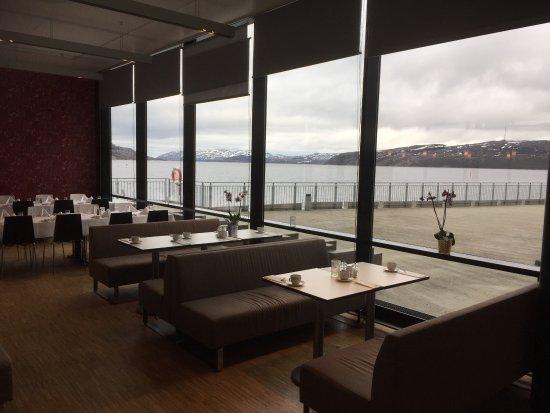 Thon Hotel Kirkenes: Fra mott besøk hit.