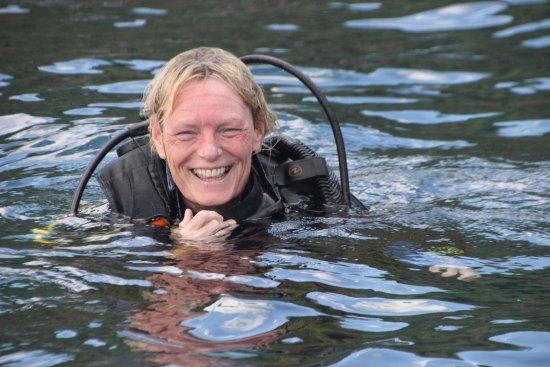 Tanjung Benoa, Indonésia: diver Jan