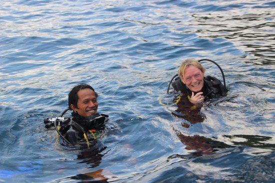 Bali Jet Set Dive and Marine Sports: big smiles