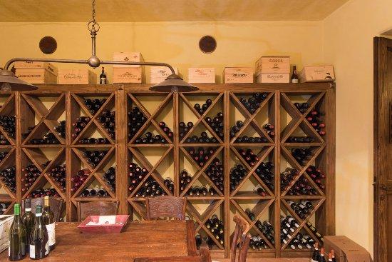 Fratta Todina, Italia: wine cellar