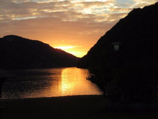 Schlogen, Austria: Abendstimmung