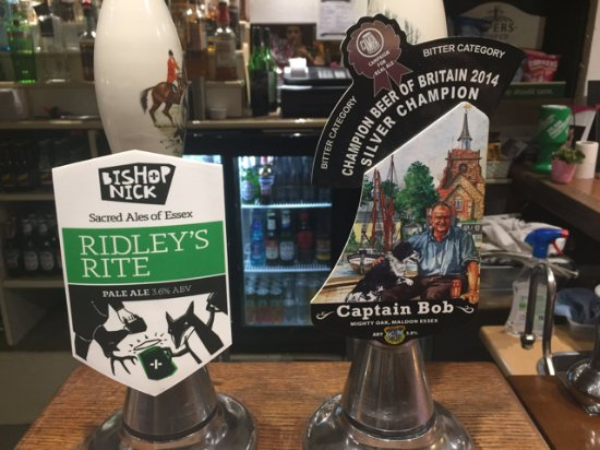 Great Bardfield, UK: Our resident Ales