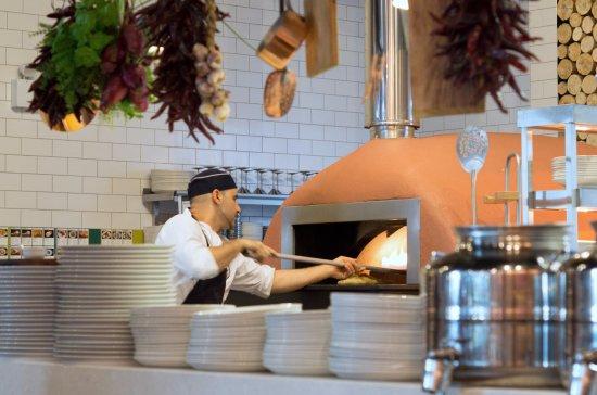 Pizza Oven Picture Of Zizzi Telford Tripadvisor