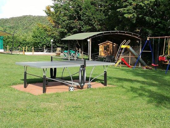 San Rocco a Pilli, İtalya: Ping pong e giochi per bambini