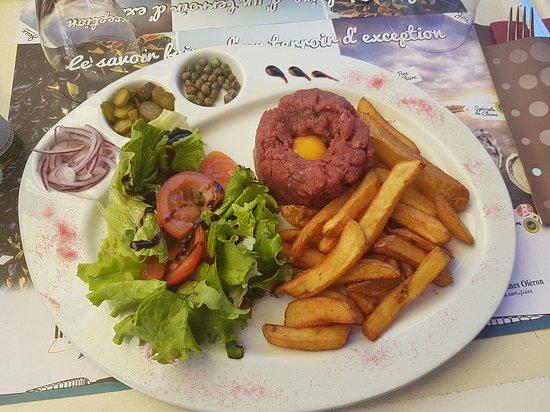 Bourcefranc le Chapus, France: Un petit repas entre amies !!!! Juste parfait