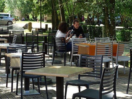 Magne, ฝรั่งเศส: Terrasse