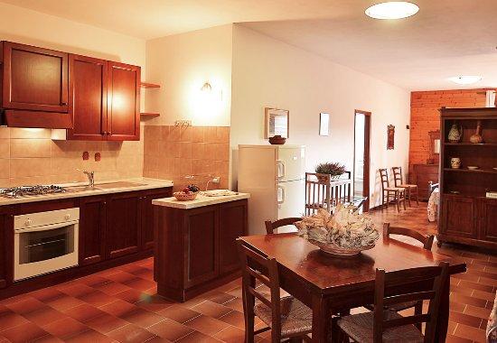 Сан-Рокко-а-Пилли, Италия: Appartamento piccolo open space