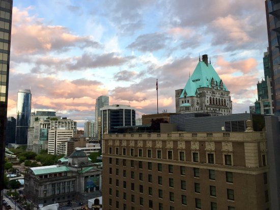 Four Seasons Hotel Vancouver: Good morning Vancouver!
