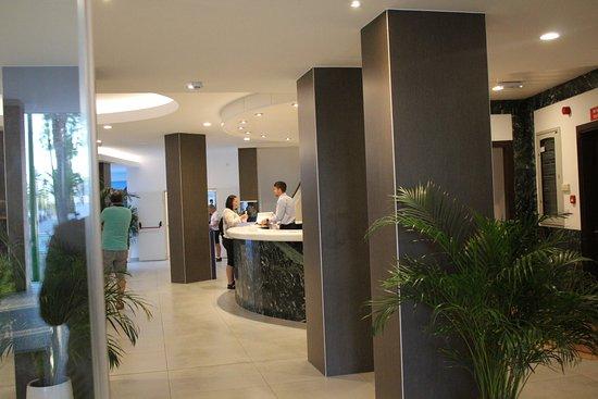 Hotel Roc Boccaccio: reception area