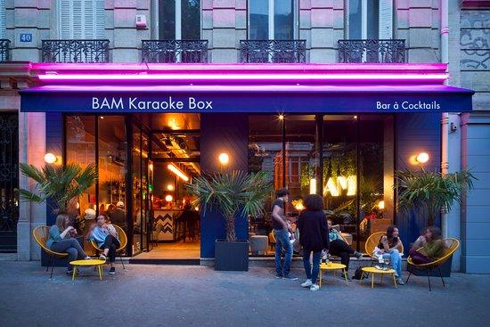 BAM Karaoke Box Parmentier