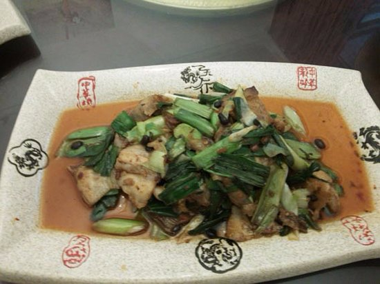 Jiange County, China: 夕食の一例