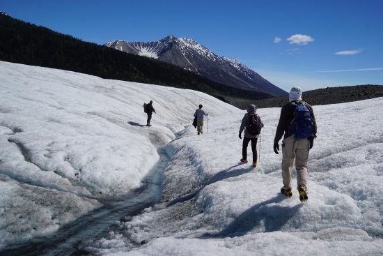 Kennicott, Alaska: Crampons came in handy