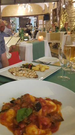 Our favourite meal in Sorrento