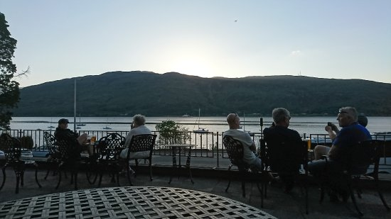Cruachan Hotel : View from outside area.