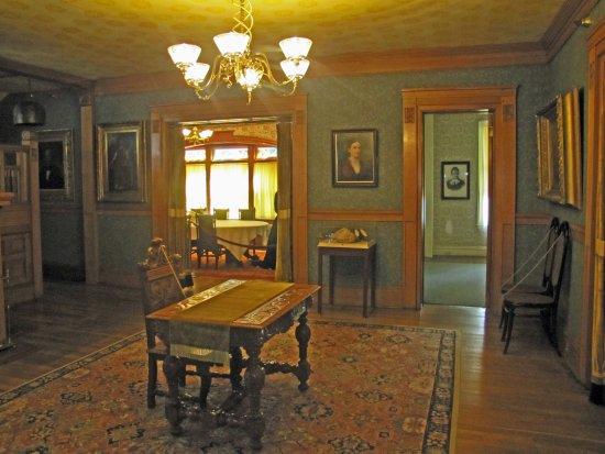 Mentor, OH: reception room - originally the kitchen