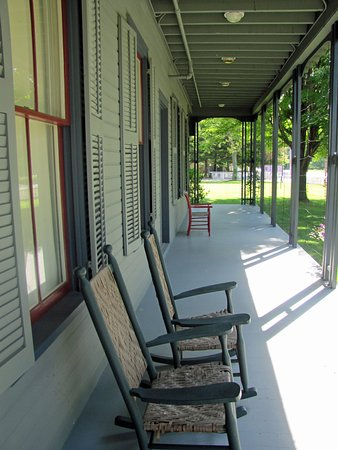 Mentor, OH: front porch