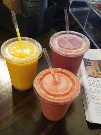 Union, Carolina del Sur: Dairy-Free Ice Cold Smoothies