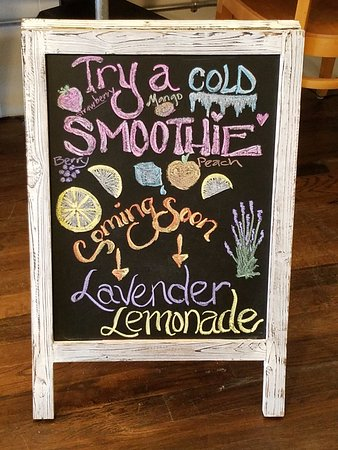 Union, SC: Can't wait to try the Lavender Lemonade