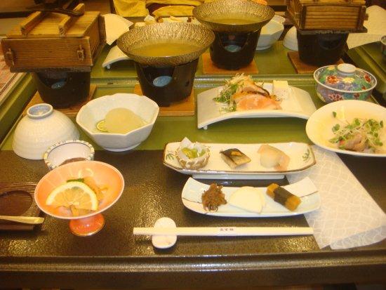 Shizukuishi-cho, Japan: 夕食