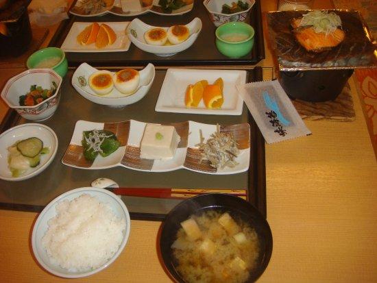 Shizukuishi-cho, Japan: 朝食