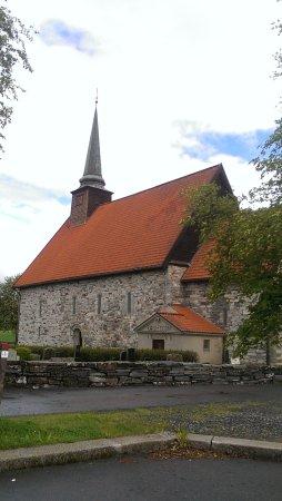 Verdal, Norge: Stiklestad kirke fra 1180
