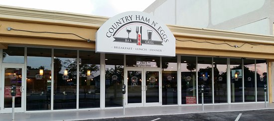 Country Ham N' Eggs: Our new location on Oakland Park Blvd.