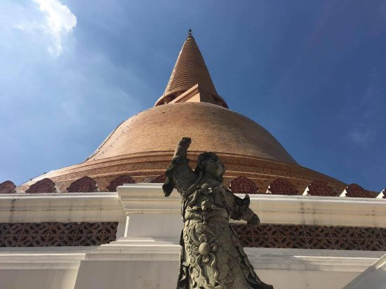เมืองนครปฐม, ไทย: Wat Phra Pathom Chedi