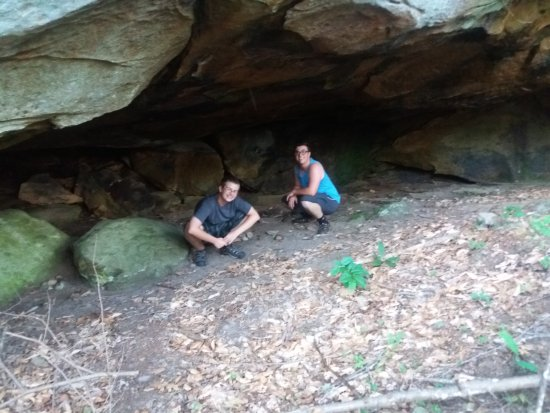 Pineville, KY: One of many rock shelters!