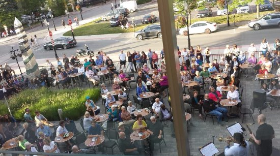The Burlington Performing Arts Centre: Jazz on the Plaza.