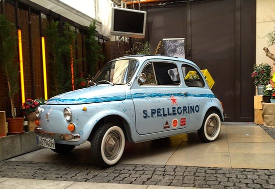 Il Punto : OUR FIAT 500 1968 - A PROJECT WITH SAN PELLEGRINO