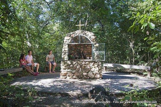 Estancia Mimosa Ecoturismo: Morro da Santa na Mimosa!