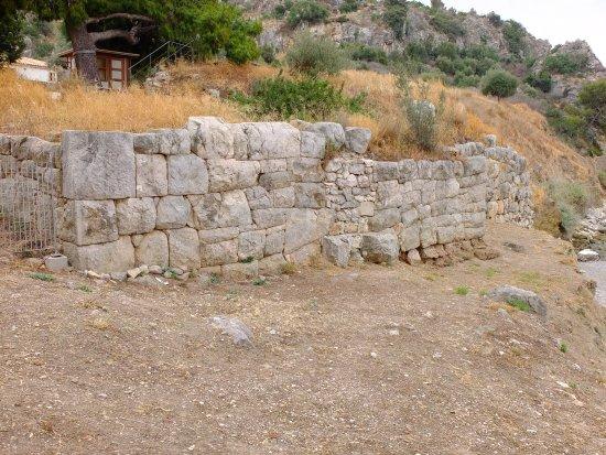 Asini, Yunanistan: mura ellenistiche