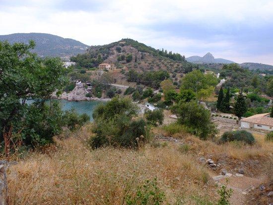 Asini, Yunanistan: la baia nei pressi della residenza e ubicata sotto il sito dell'antica Assini