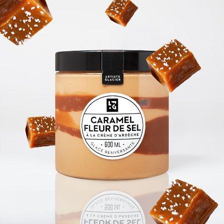 Creme Glacee Caramel Fleur De Sel Picture Of La Fabrique Givree