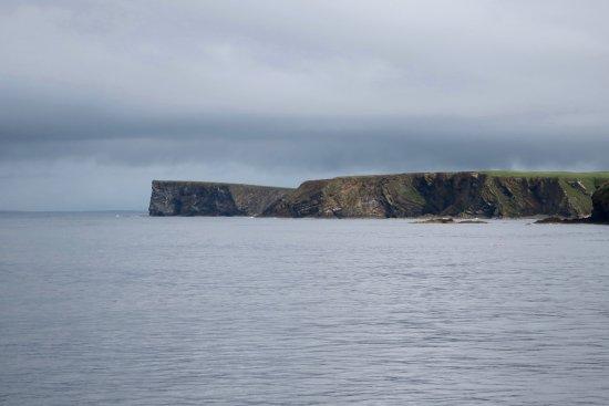 John O'Groats, UK: Approaching Orkneys