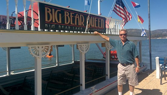 Big Bear Queen Lake Tours: Captain and his ship