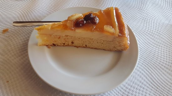 Vacarisses, Spain: Tarta de frutos secos