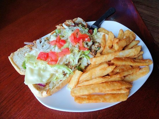 Awesome Philly Cheese Steak Picture Of Carolina Ale House