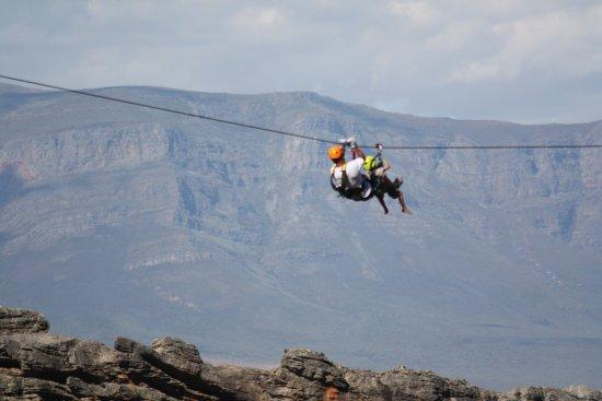 Ceres Zipslide Adventures : Ziplining in the mountains!