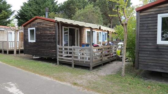 mobil home picture of camping la rive biscarrosse tripadvisor. Black Bedroom Furniture Sets. Home Design Ideas