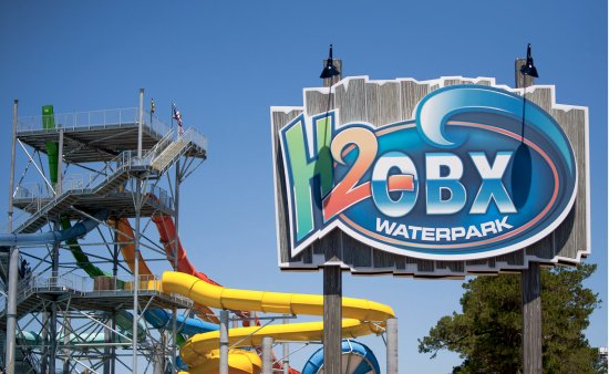 H2OBX Waterpark located in Powells Point, NC!