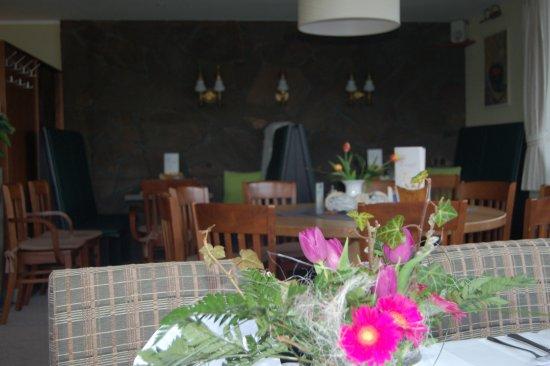 Schalkenmehren, Alemania: gemütliche Restaurantecke